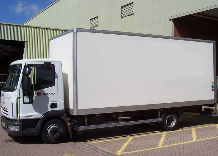 7.5 Tonne Box Sided