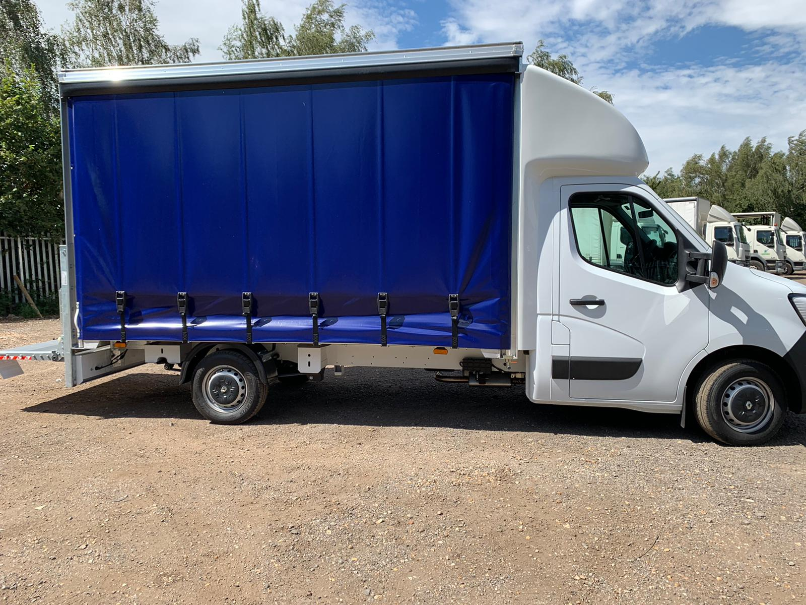 curtain sided with tail lift