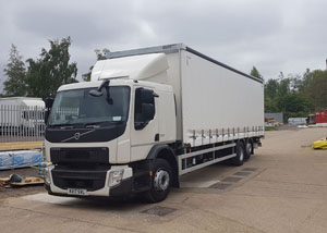26 Tonne Curtainside