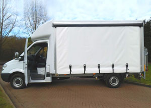 3.5 Tonne Curtainside