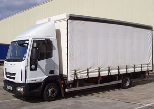 7.5 Tonne Curtainside